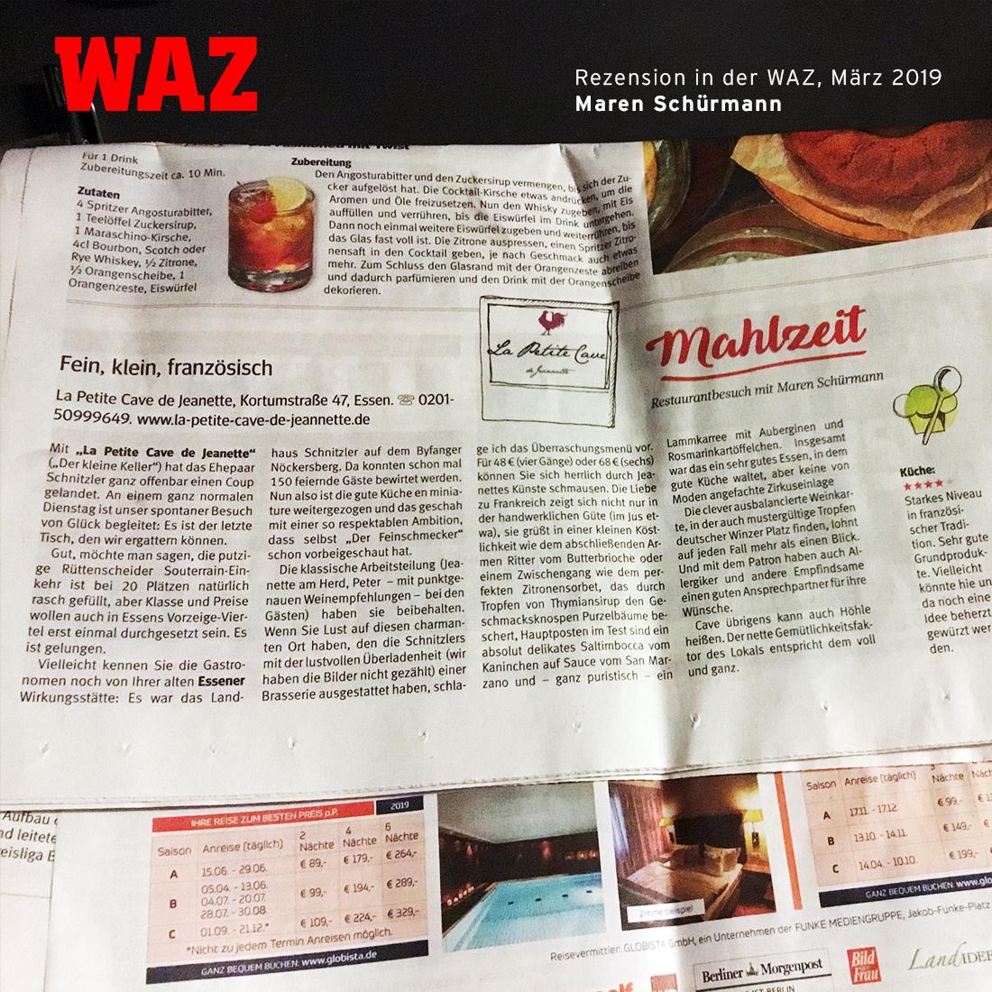 """WAZ """"Mahlzeit"""", Maren Schürmann"""