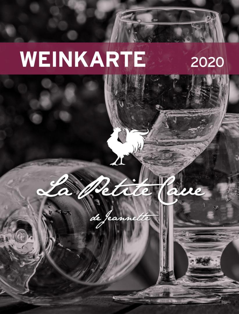 La Petite Cave de Jeannette – Weinkarte 2020