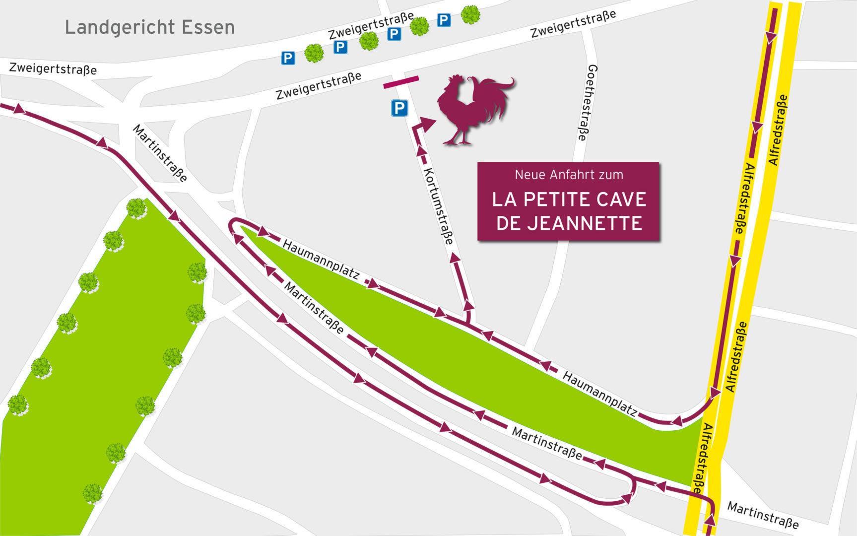 La-Petite-Cave Anfahrt Haumannplatz 2021