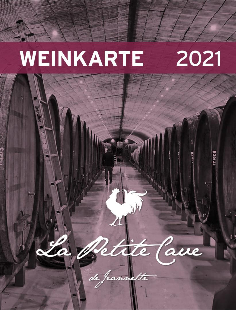 Weinkarte von La Petite Cave de Jeannette zur Übersicht
